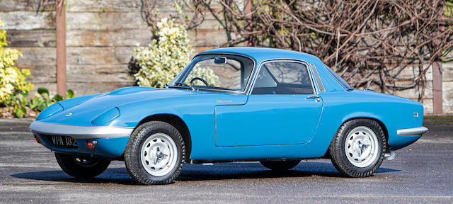 1968 Lotus Elan S3 Coupé