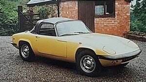 1970 Lotus Elan S4 SE Drophead Coupé