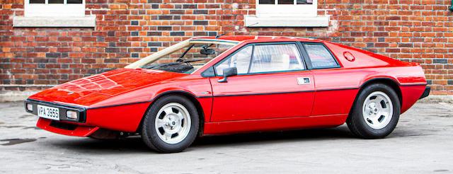 1978 Lotus Esprit S1 Coupé