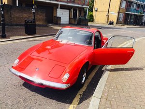 Lotus Elan plus two black badge