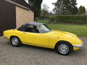 1968 LOTUS ELAN S3 SE D.H.C YELLOW ** SIMPLY STUNNING!! ** For Sale