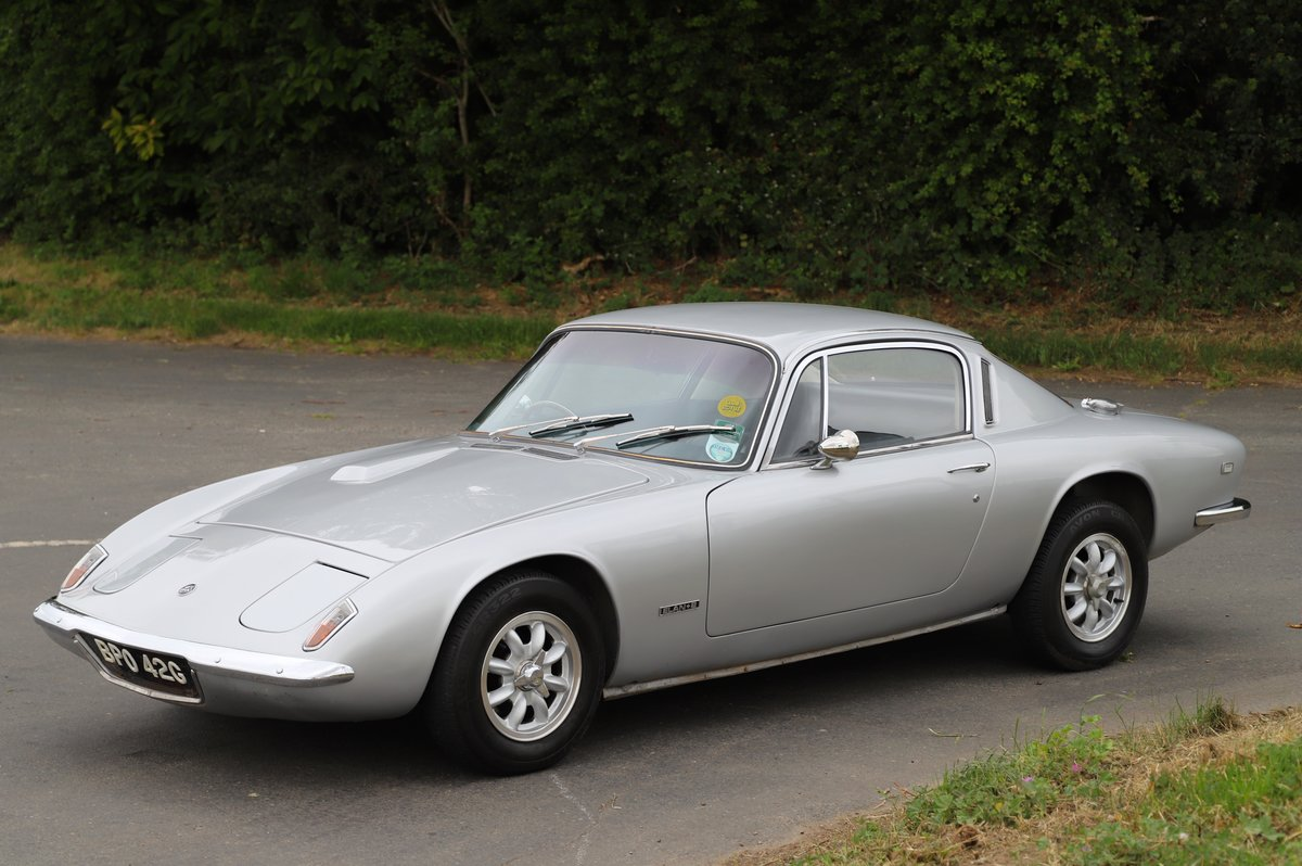 Lotus Elan+2, 1969. Superb example in Lotus Silver Frost. For Sale (picture 1 of 6)