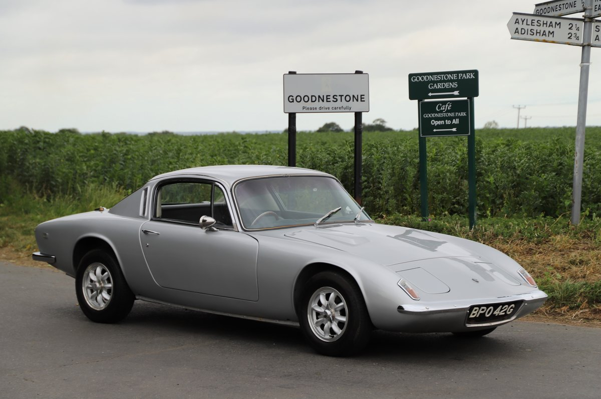 Lotus Elan+2, 1969. Superb example in Lotus Silver Frost. For Sale (picture 2 of 6)