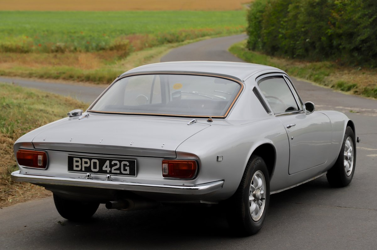 Lotus Elan+2, 1969. Superb example in Lotus Silver Frost. For Sale (picture 3 of 6)
