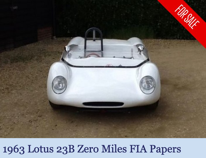1963 Lotus 23B - fresh engine - FIA papers For Sale (picture 1 of 6)