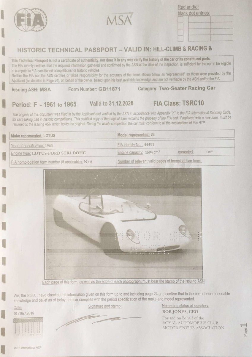 1963 Lotus 23B - fresh engine - FIA papers For Sale (picture 2 of 6)