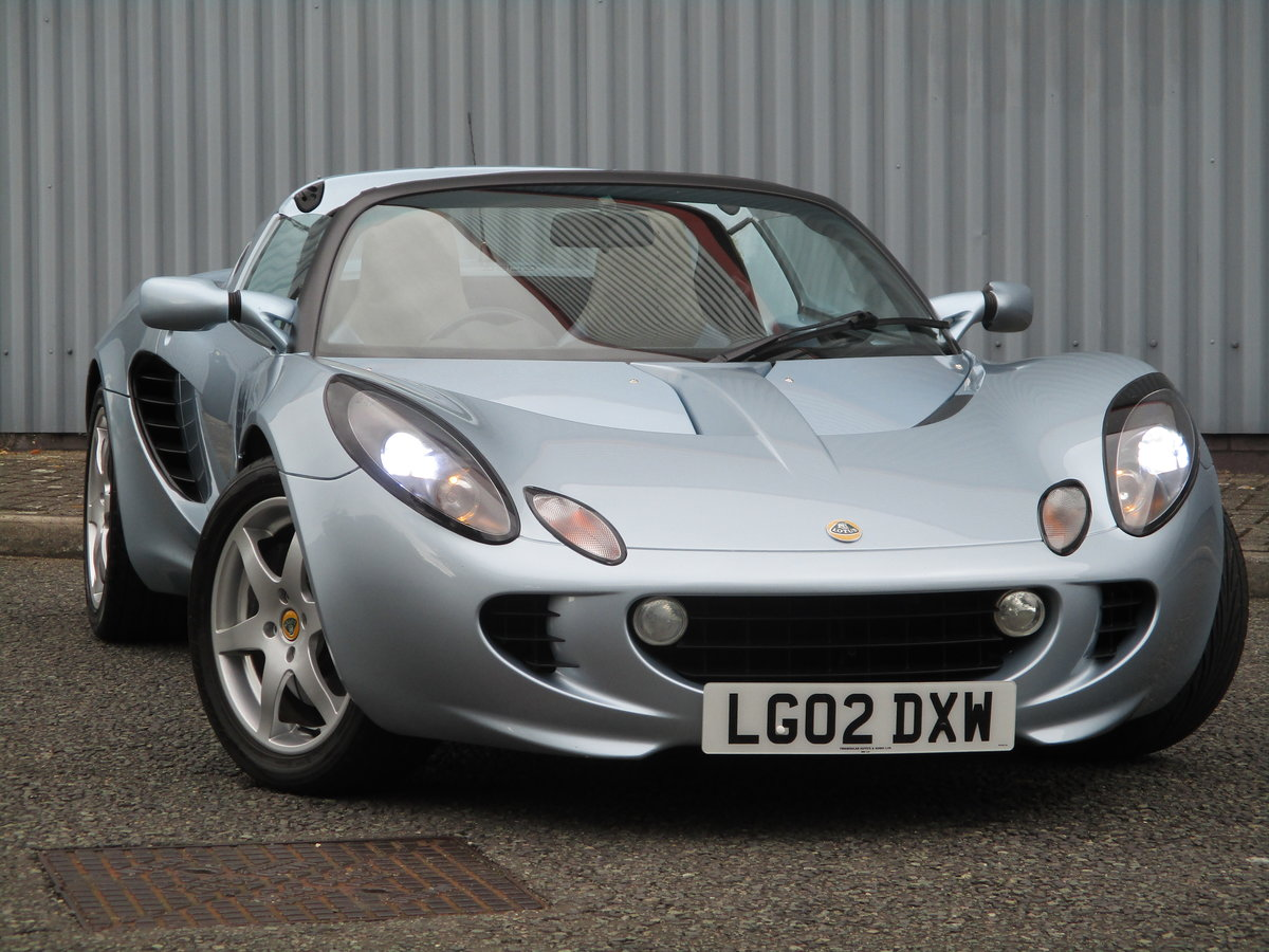 2002 Excellent Low mileage Elise. Sports Specialists For Sale (picture 1 of 6)