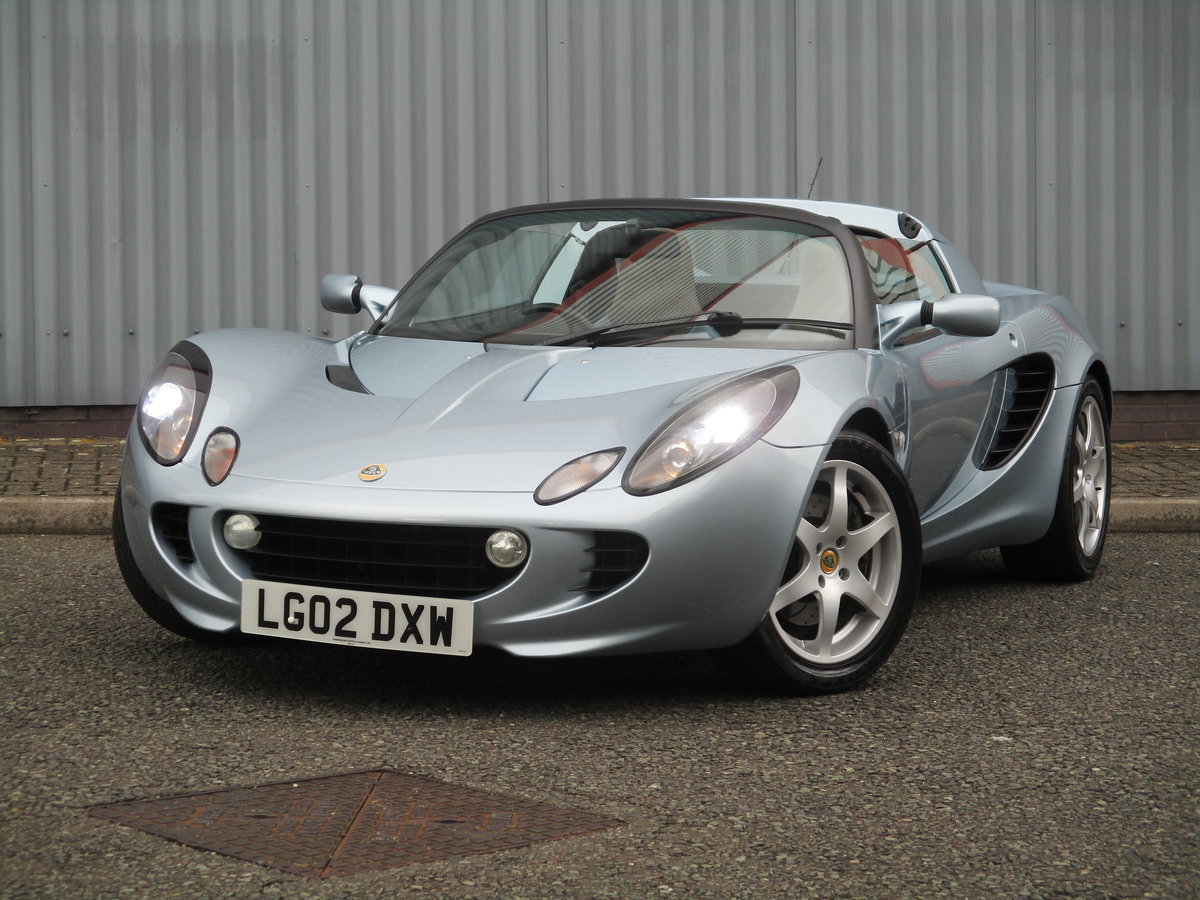 2002 Excellent Low mileage Elise. Sports Specialists For Sale (picture 2 of 6)