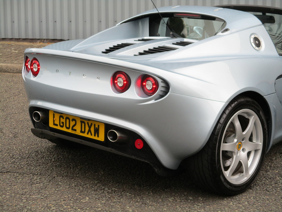 2002 Excellent Low mileage Elise. Sports Specialists For Sale (picture 6 of 6)