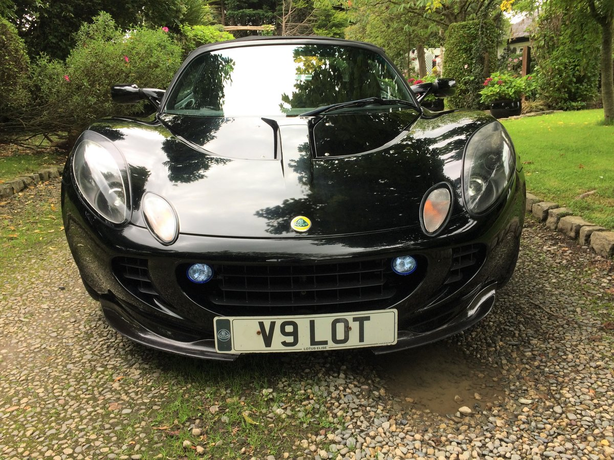 2002 Lotus Elise Sport SOLD (picture 1 of 6)