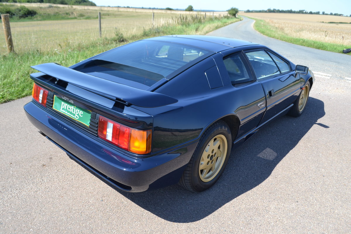 1988 Lotus Esprit Turbo 2.2 (X180) For Sale (picture 4 of 6)