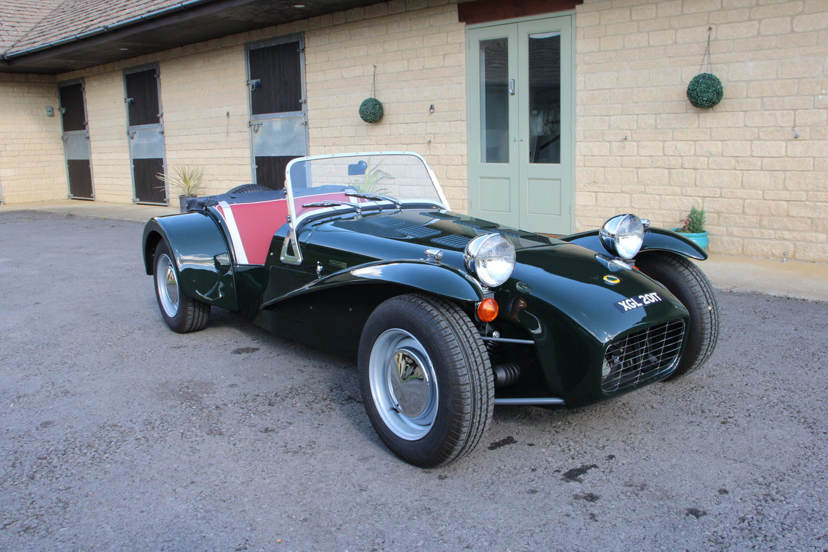 """1969 LOTUS SEVEN S3 """"TWIN CAM"""" For Sale (picture 1 of 20)"""