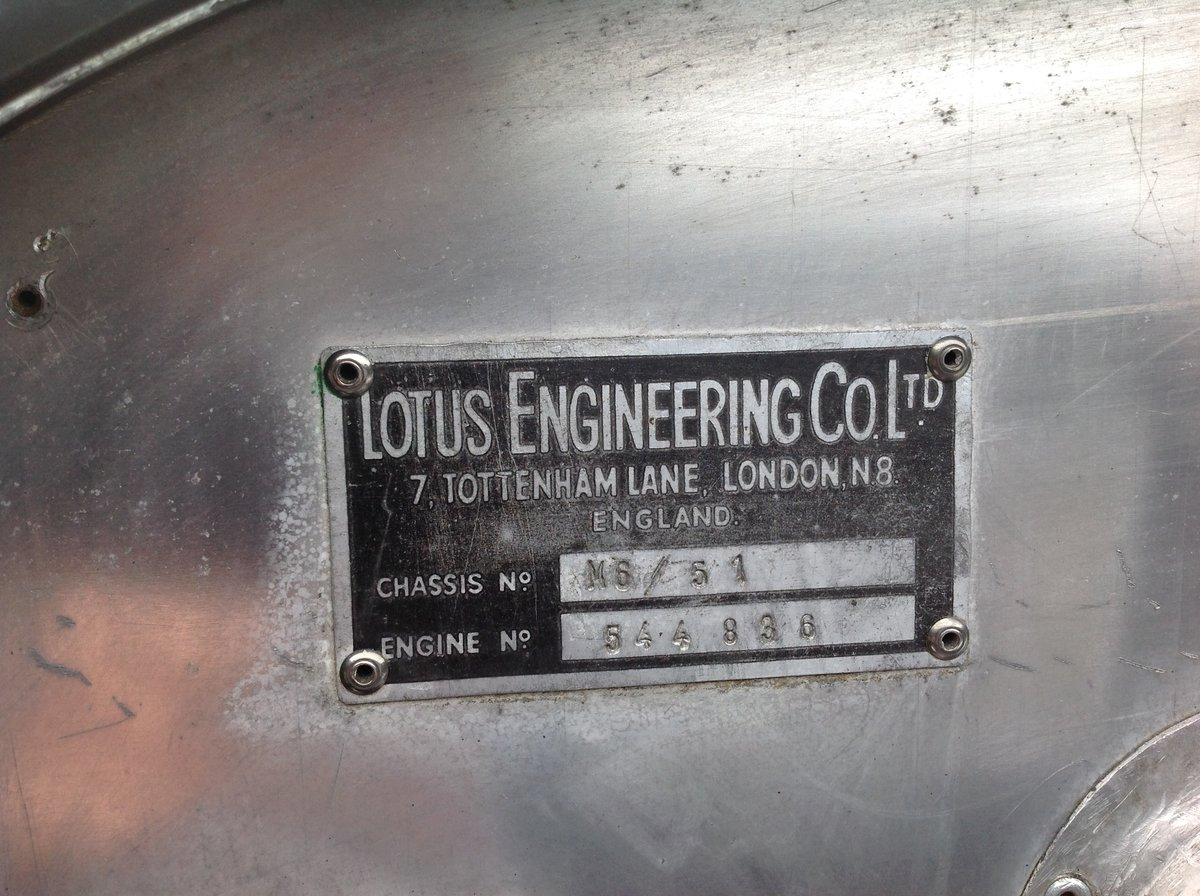 1956 Lotus VI - Chassis No.51 For Sale (picture 4 of 6)