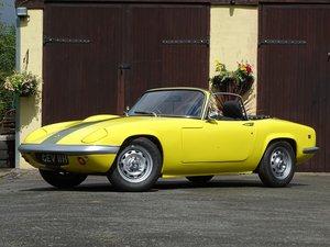 1969 Lotus Elan S4 Drophead Coupe