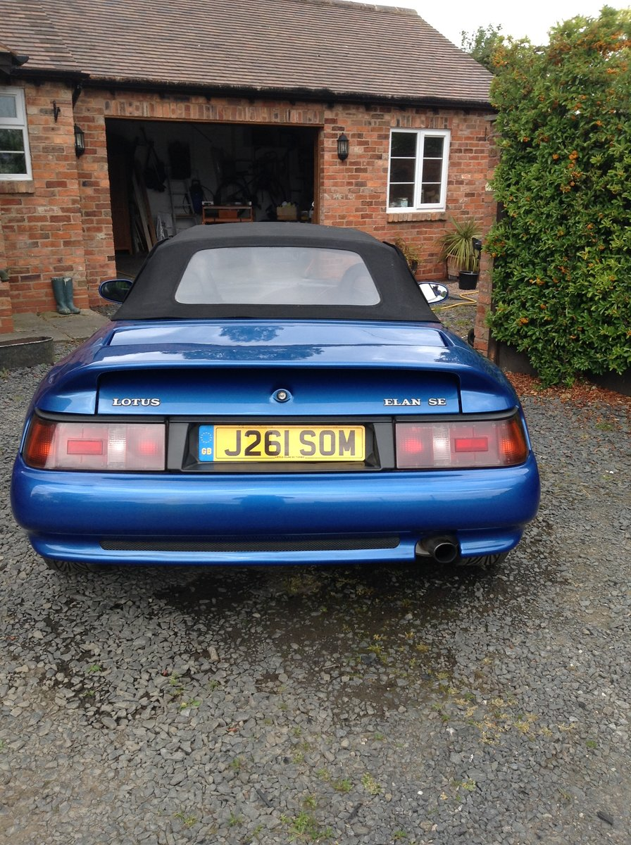 1992 lotus Elan M100 SE For Sale (picture 3 of 6)