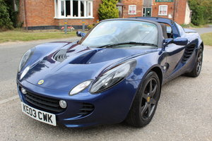 ELISE SPORTS TOURER - 2 OWNERS, LOW MILEAGE, SUPER HISTORY!