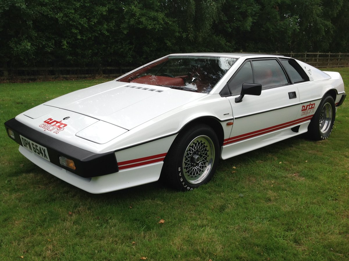 1981 Lotus Esprit Turbo - The Very Best Available. For Sale (picture 1 of 5)