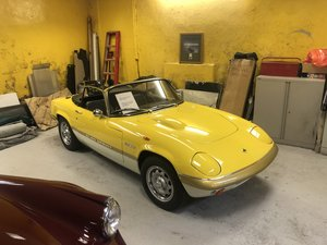 1970 Lotus Elan S4/Sprint Specification
