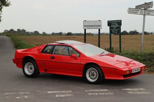 Lotus Esprit Turbo HC, 1987.   28,000 miles from new.