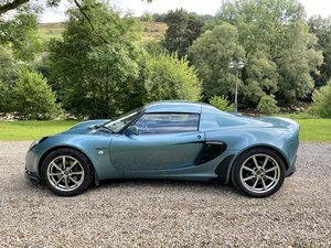 Stunning aqua Lotus Elise 1.8 156hp 111S 2003 03 with hard t