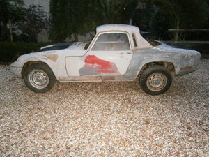 lotus Elan S4 19790 FHC Dismantled for RESTORATION **SOLD**