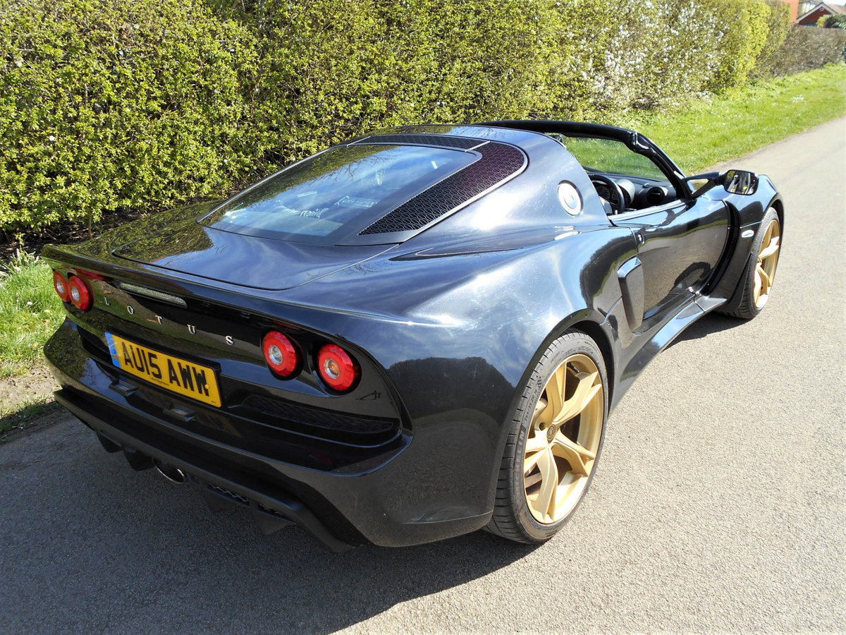 2015 Lotus Exige S Roadster SOLD (picture 4 of 13)