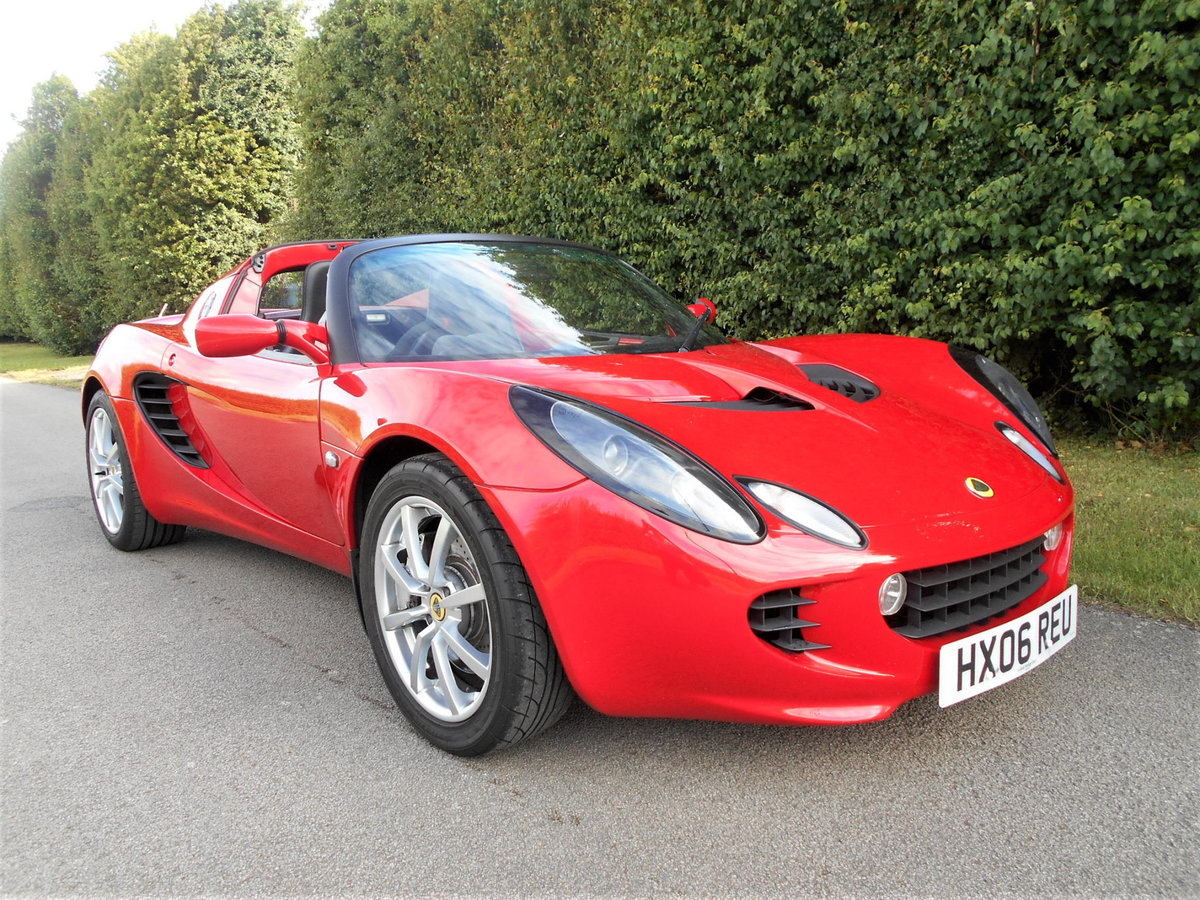 2006 Lotus Elise 111R 16V Touring SOLD (picture 1 of 14)