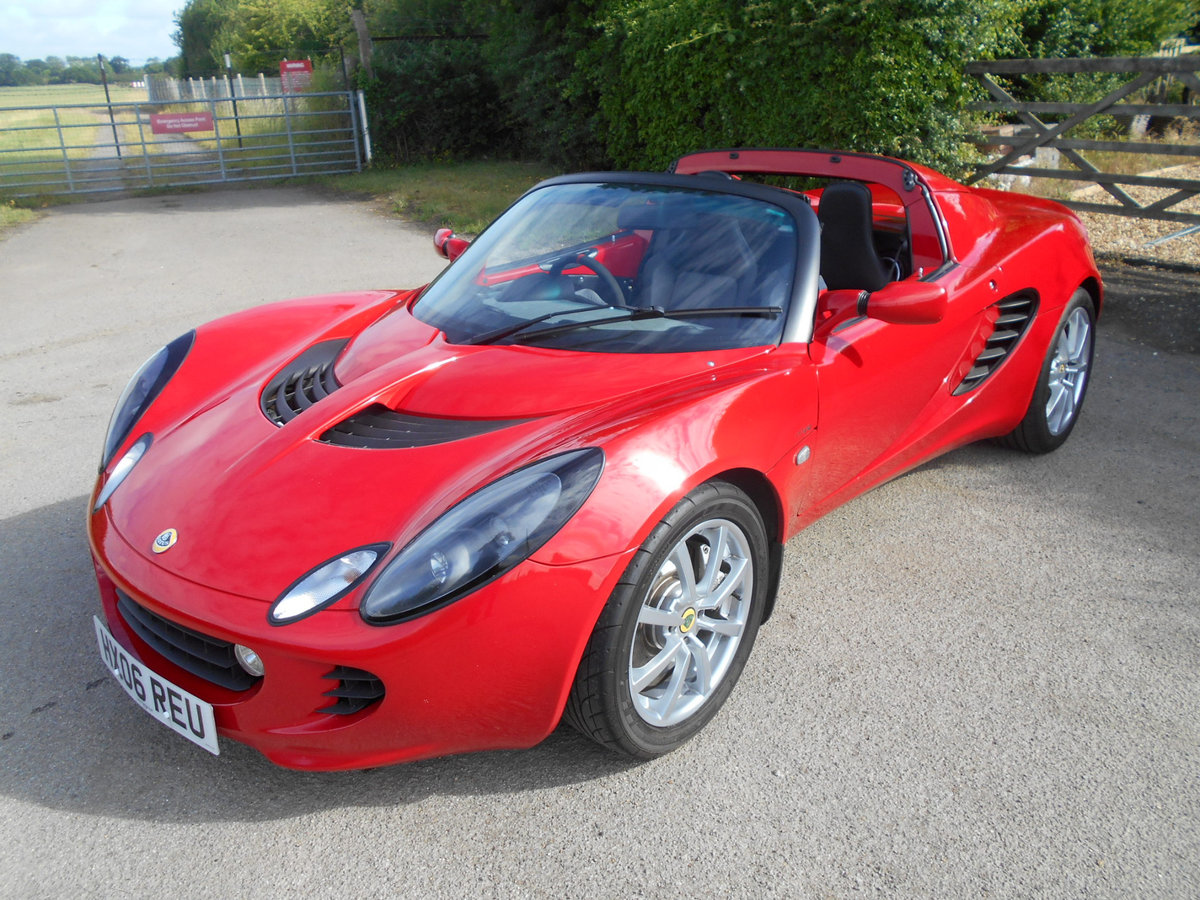 2006 Lotus Elise 111R 16V Touring SOLD (picture 2 of 14)