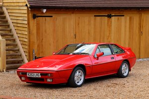 Picture of Lotus Excel SE, 1992.  Superb example in Calypso Red.