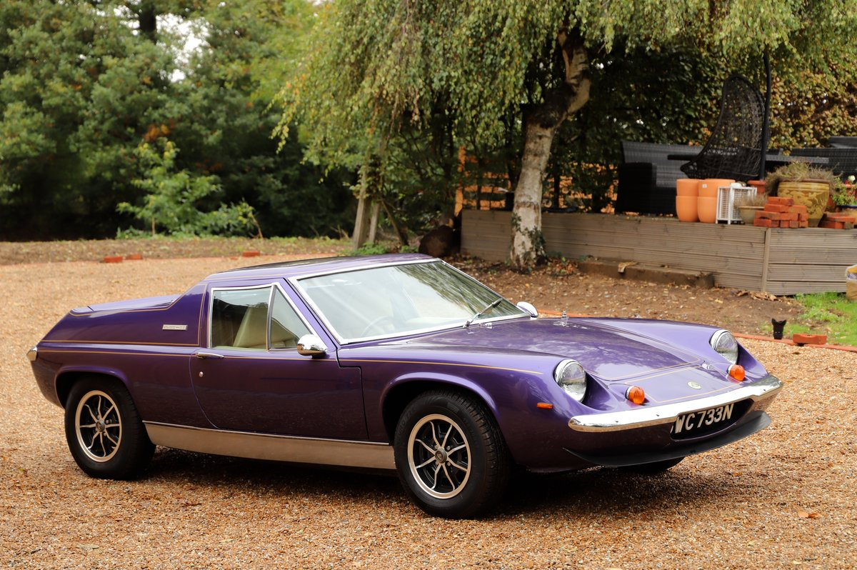 Lotus Europa Twin-Cam Special, 5 Speed, 1975. For Sale (picture 2 of 6)