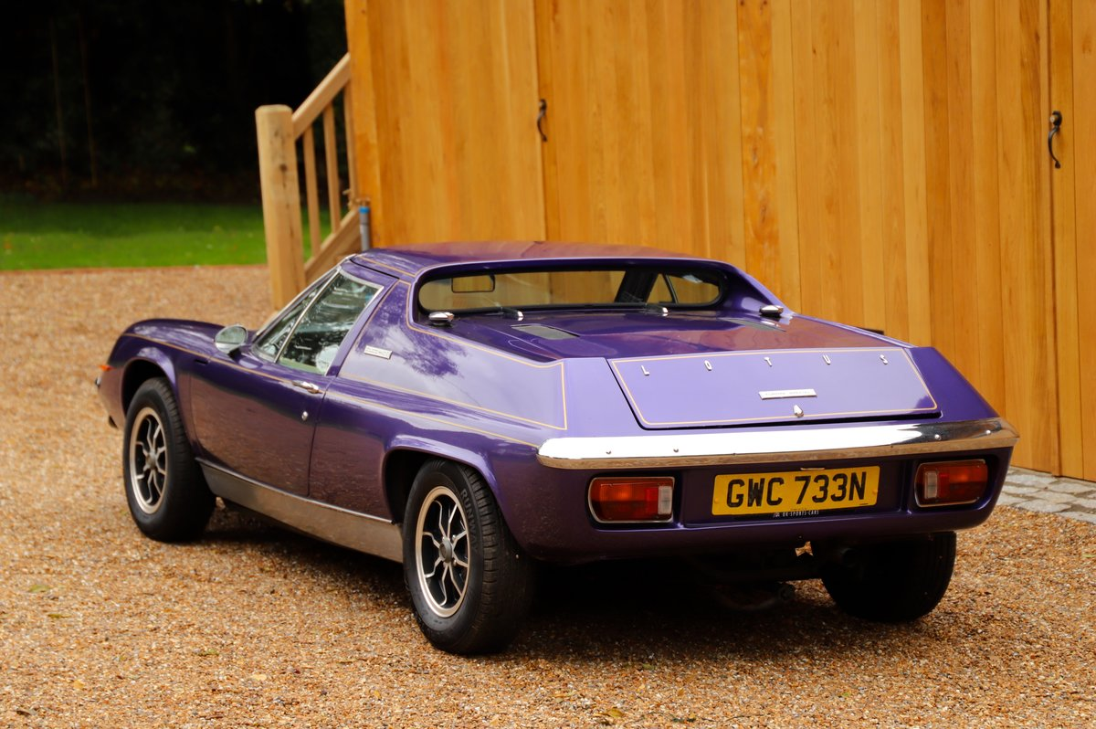 Lotus Europa Twin-Cam Special, 5 Speed, 1975. For Sale (picture 3 of 6)