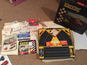 SCALEXTRIC GP 3 set complete and boxed