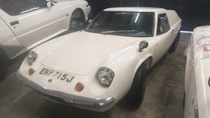 LOTUS EUROPA S2 ONE OWNER STORED LAST 40 YEARS LIGHT PROJECT