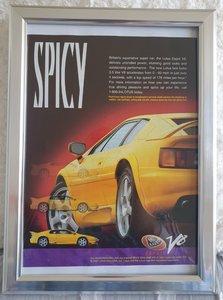 Picture of 1979 Original 1997 Lotus Esprit V8 Framed Advert