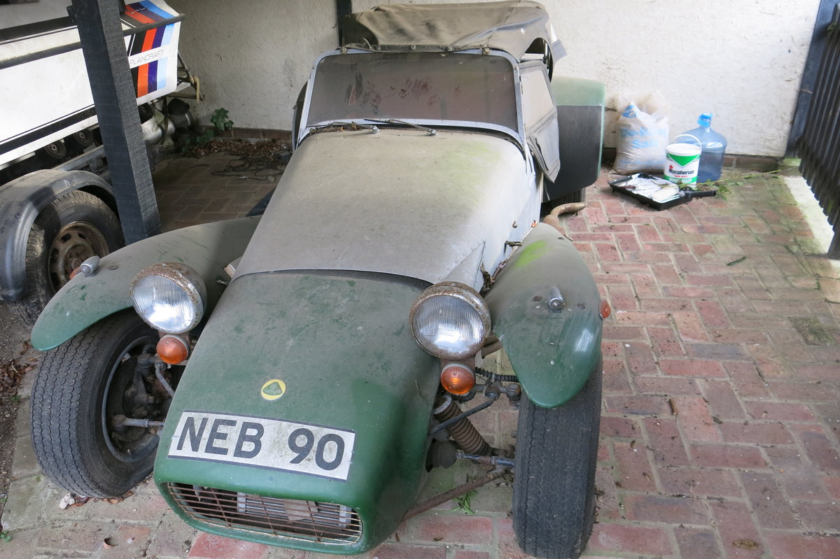 1962 Lotus Super Seven For Sale (picture 1 of 5)