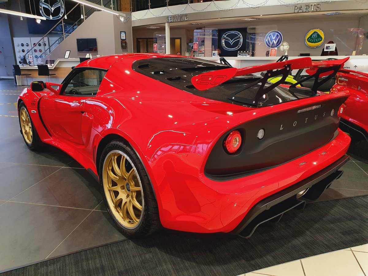 2021 Lotus Exige V6 Sport 410 20th Anniversary For Sale (picture 3 of 6)