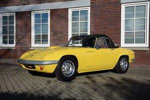 Lotus Elan S4 1969 yellow
