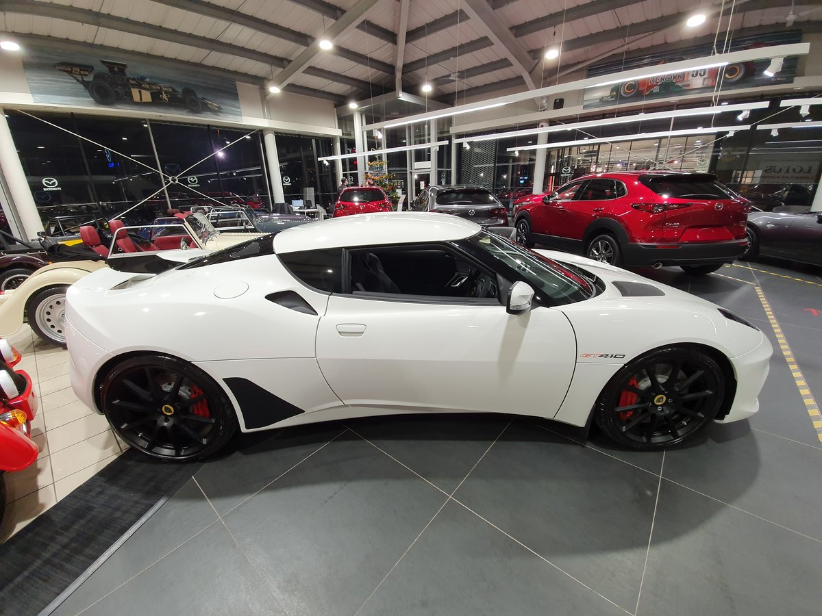2021 LOTUS EVORA GT 410 2+2 (Brand New Delivery Mileage) For Sale (picture 2 of 12)