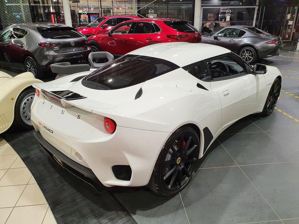 2021 LOTUS EVORA GT 410 2+2 (Brand New Delivery Mileage) For Sale (picture 3 of 12)