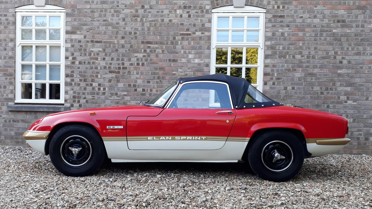 Lotus Elan Sprint Drophead Coupe 1972 Owned 1981 £35k Spent For Sale (picture 8 of 12)