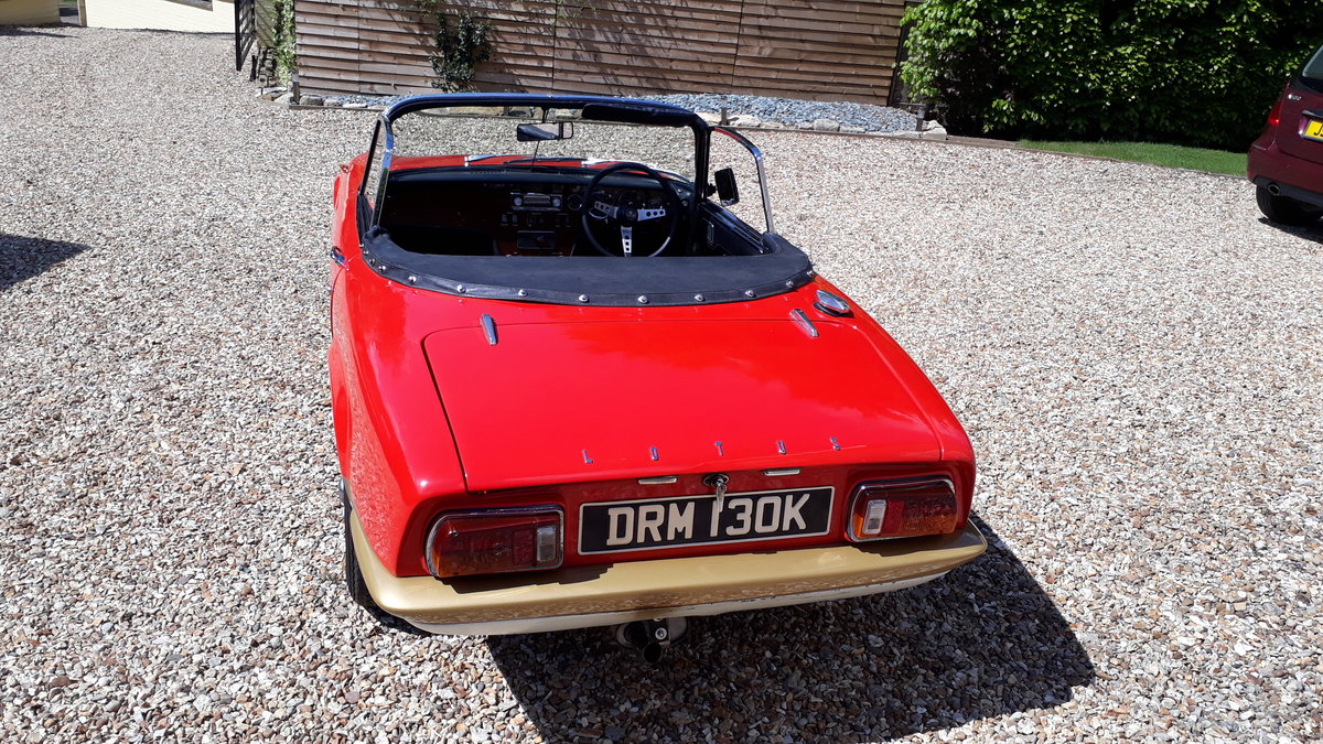 Lotus Elan Sprint Drophead Coupe 1972 Owned 1981 £35k Spent For Sale (picture 9 of 12)