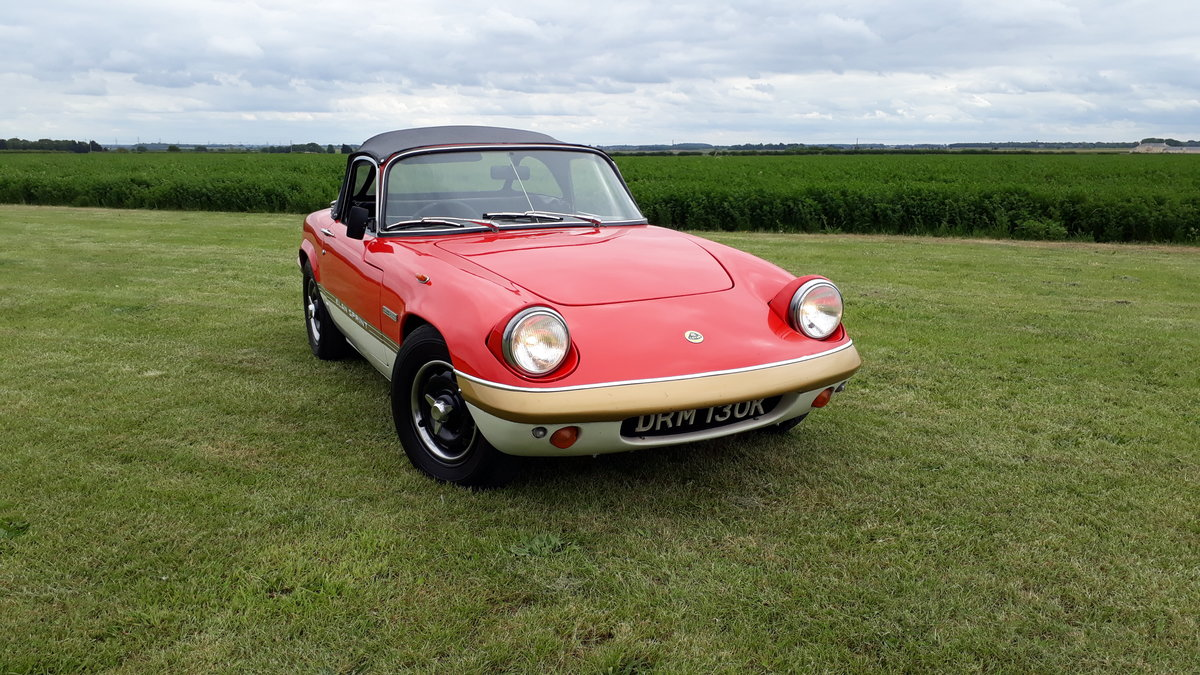 Lotus Elan Sprint Drophead Coupe 1972 Owned 1981 £35k Spent For Sale (picture 11 of 12)