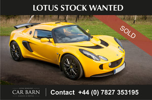 Picture of 2008 Lotus Stock Wanted For Sale