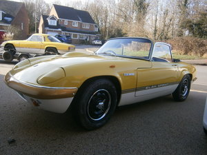 Picture of LOTUS ELAN SPRINT DHC 1971 K CORRECT FACTORY 45 YELLOW*SOLD* For Sale