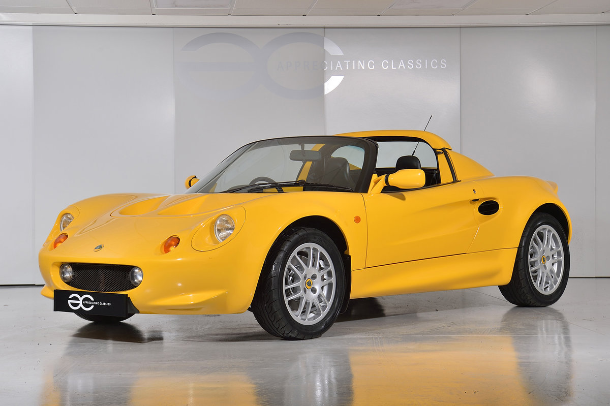 2000 One Owner - 25k Miles - Lotus Elise S1 - Fantastic History SOLD (picture 2 of 11)