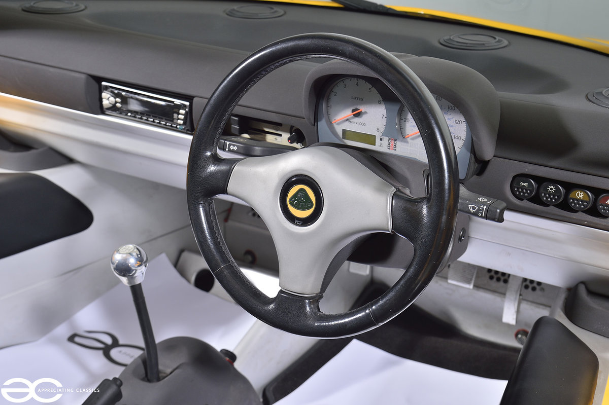 2000 One Owner - 25k Miles - Lotus Elise S1 - Fantastic History SOLD (picture 7 of 11)