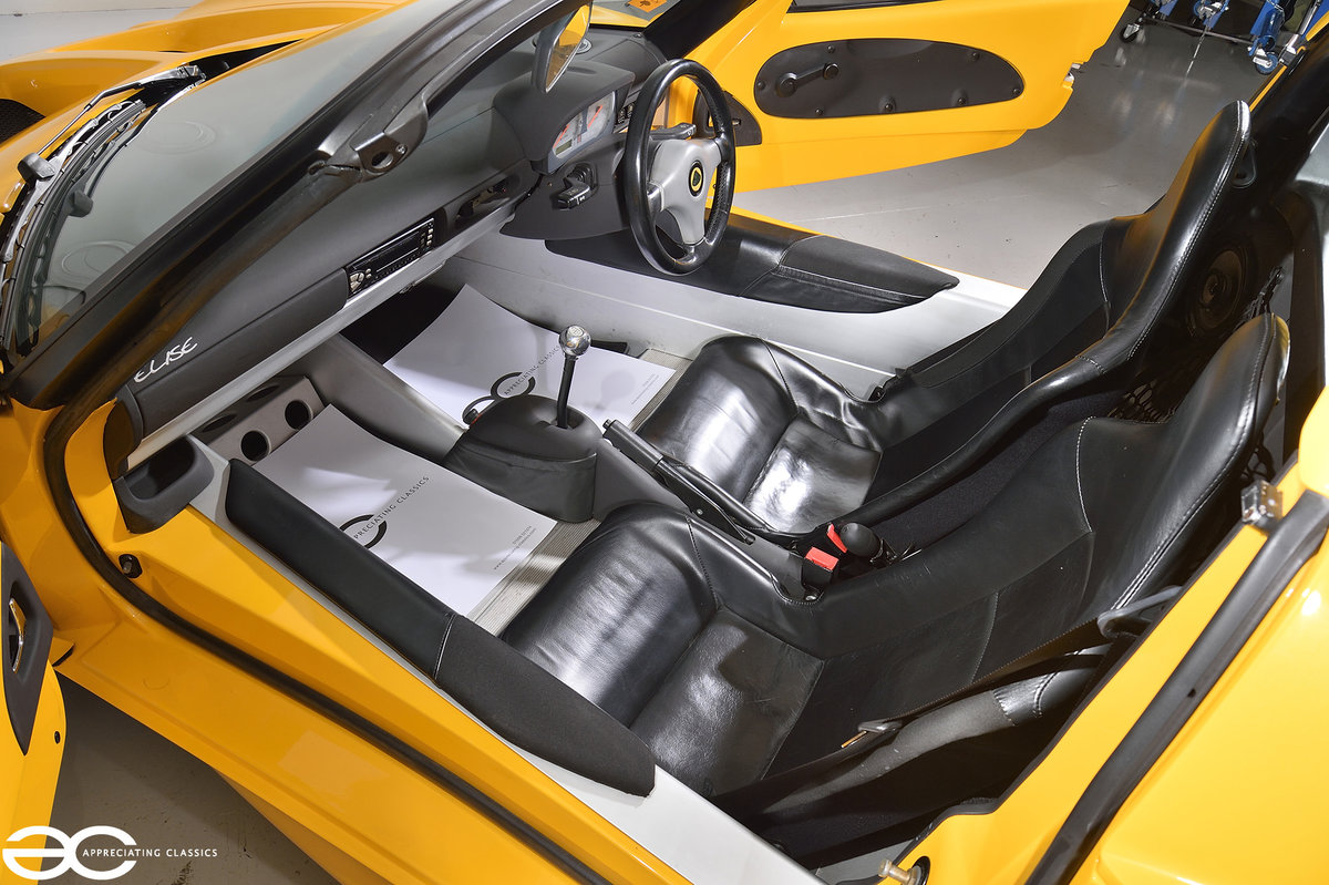 2000 One Owner - 25k Miles - Lotus Elise S1 - Fantastic History SOLD (picture 8 of 11)