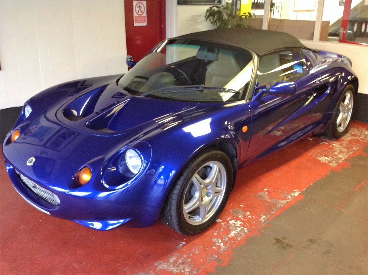 1998 Lotus Elise For Sale by Auction (picture 1 of 2)