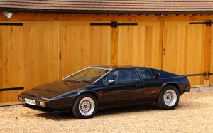 Picture of Lotus Esprit S3 HC, 1987.  One of only two HC's in black. For Sale