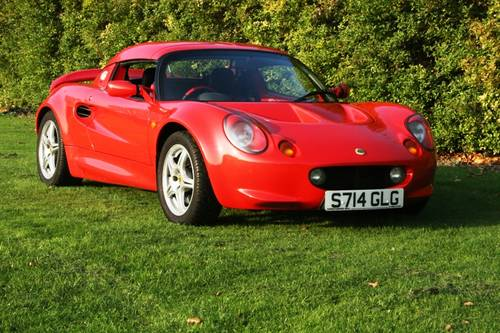1998 Lotus Elise 160 BHP upgrade For Sale (picture 1 of 6)